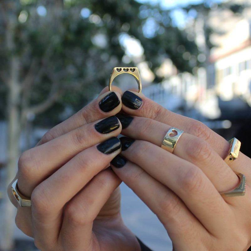 טבעת אורית זהב