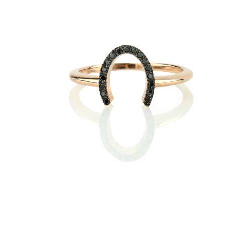 טבעת פרסה לזרת