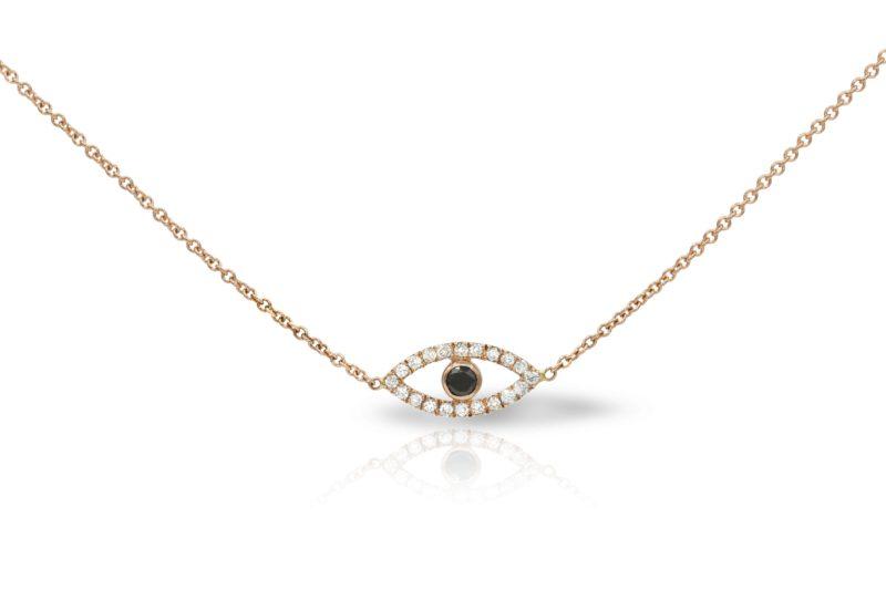 צמיד / שרשרת עין משובצת יהלומים