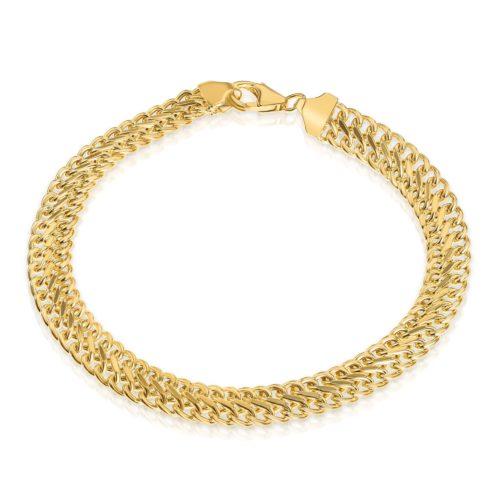צמיד גורמט מיוחד זהב 14 קארט צהוב