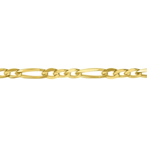 שרשרת גורמט לייט זהב 14 קארט צהוב