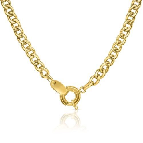 שרשרת גורמט קלאסי קטן זהב 14 קארט צהוב